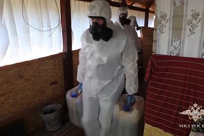 МВД изъяло тонну наркотиков из подпольной лаборатории в Башкирии