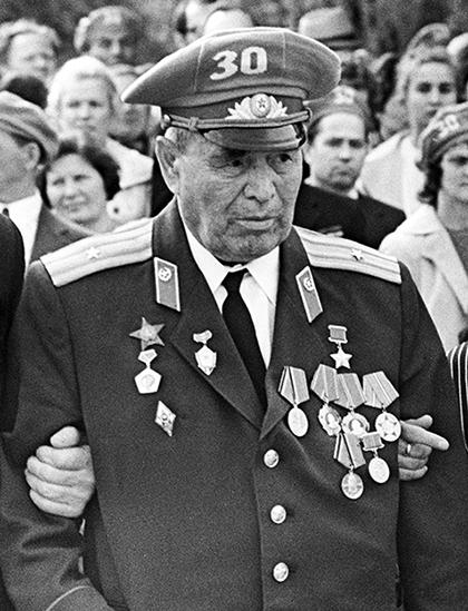 Петр Гаврилов после войны