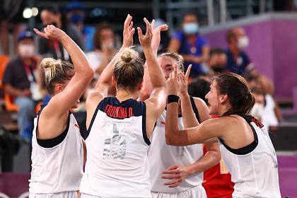 Российские баскетболистки вышли в финал Олимпийских игр