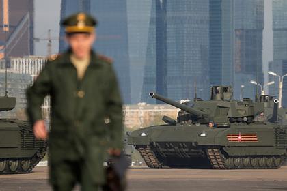 В США оценили угрозу российской Т-14 «Армата»