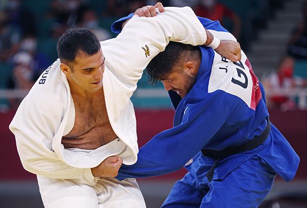Джавад Маджуб (слева)