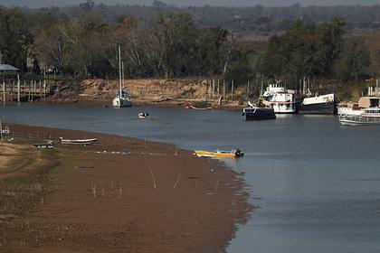 Пересохшие реки поставили под угрозу мировую торговлю