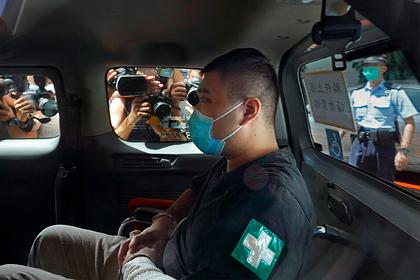 В Гонконге впервые нарушителю закона о нацбезопасности дали девять лет тюрьмы