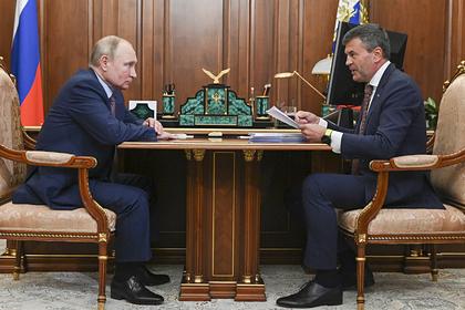 Путин встретился с гендиректором АНО «Россия — страна возможностей»