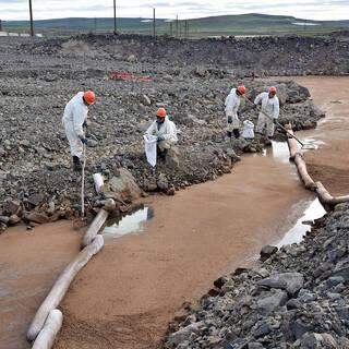 Ликвидация последствий аварии на ТЭЦ-3 в Норильске
