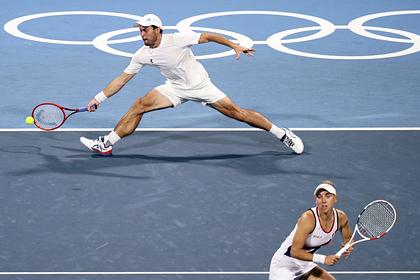 Российские теннисисты гарантировали себе золото в миксте на Олимпиаде