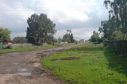 Вид поселка Петра Дубрава