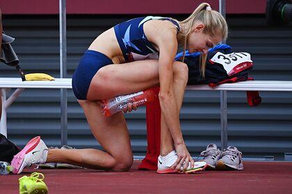 Российская легкоатлетка Клишина получила травму на Олимпиаде