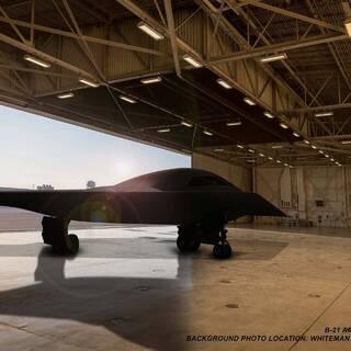 Рендерное изображение B-21