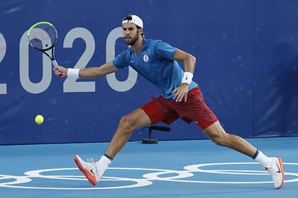 Российский теннисист завоевал серебро на Олимпиаде в Токио