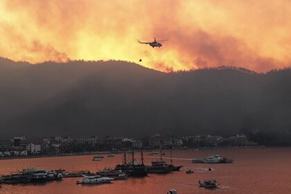 Террористы взяли на себя вину за лесные пожары в Турции