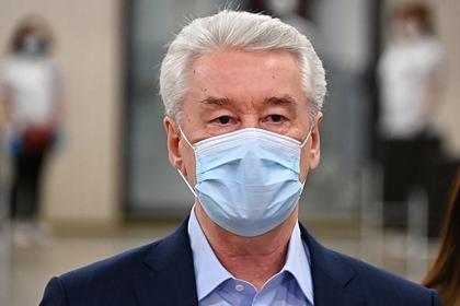 Собянин объяснил вспышку заболеваемости COVID-19 в Москве