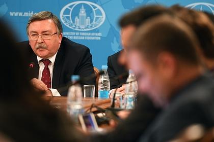 Российский дипломат раскрыл подробности по иранской ядерной сделке
