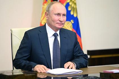 Путин поздравил военных с Днем ВДВ