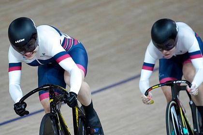Российские велогонщицы Шмелева и Войнова выиграли бронзу в командном спринте
