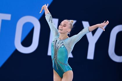 Россиянка Мельникова разделила с японкой бронзу Олимпиады в вольных упражнениях