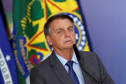 В Бразилии потребовали расследовать распространение фейков президентом Болсонару