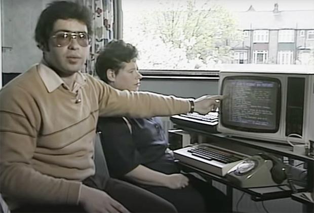 Как отправить электронное письмо по телефонной линии. 1984 год