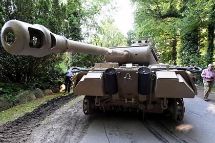 Танк «Пантера» времен Второй мировой войны