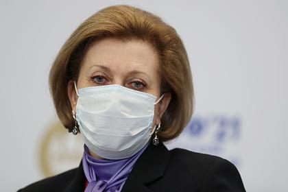 Попова заявила о напряженной ситуации с COVID-19 в России