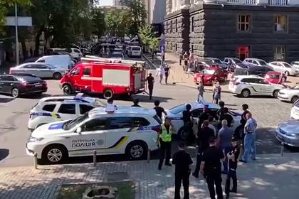 Угрожавшего взорвать здание правительства Украины задержали