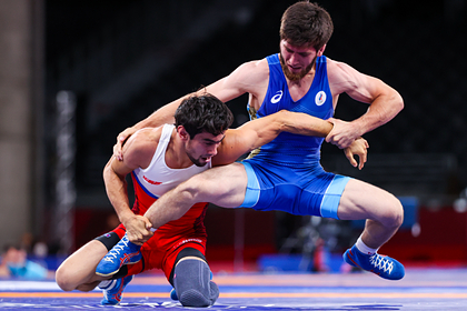 Российский борец пробился в финал Олимпиады