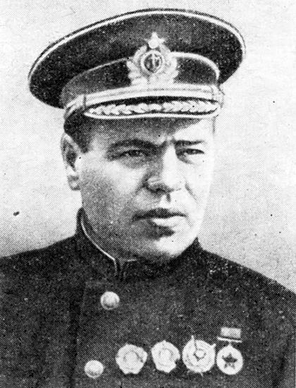 Руководитель Одесского оборонительного района Гавриил Жуков