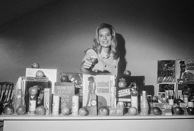 Аннис Саммерс на открытии магазина Ann Summers
