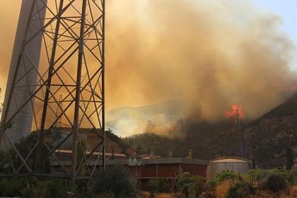 В Турции из-за пожара эвакуируют сотрудников ТЭЦ