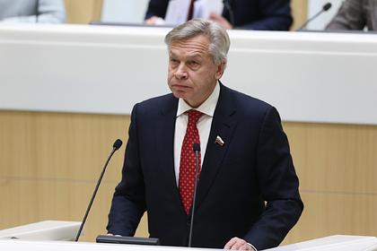 Пушков ответил на требование Запада отозвать признание Абхазии и Южной Осетии