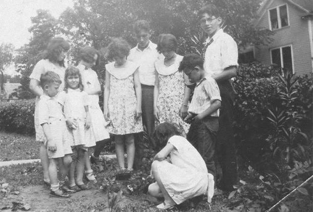Семья Ковалей. 1929 год