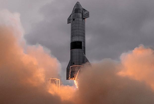 Испытания прототипа космического корабля Starship
