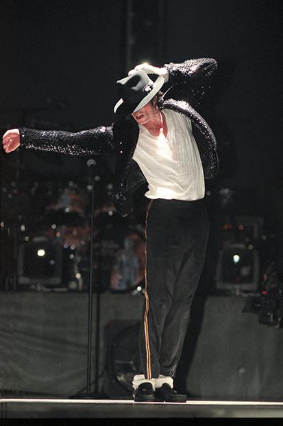 Майкл Джексон во время концерта в рамках тура HIStory, декабрь 1996 года