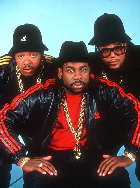Участники хип-хоп-группы RUN DMC, 1985 год