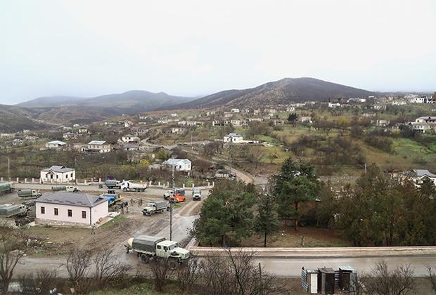 Нагорный Карабах, село Талиш под контролем азербайджанских войск