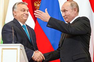 Виктор Орбан и Владимир Путин