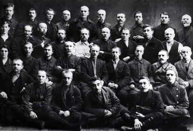 Томское отделение общества политкаторжан и ссыльнопоселенцев. Начало 1930-х годов