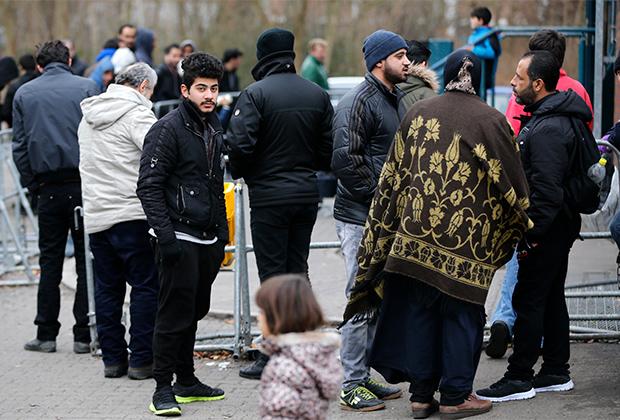 Мигранты в Берлине
