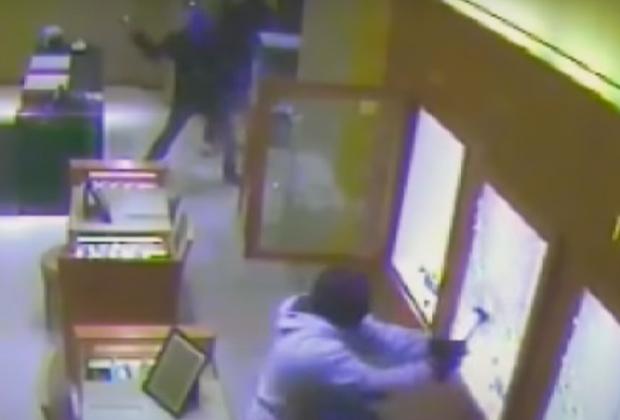 Нападение на ювелирный магазин в Берлине