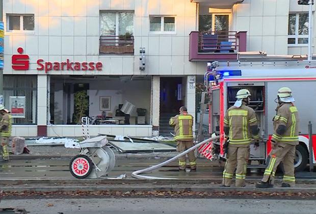 Нападение на сберкассу в районе Мариендорф, 2014 год