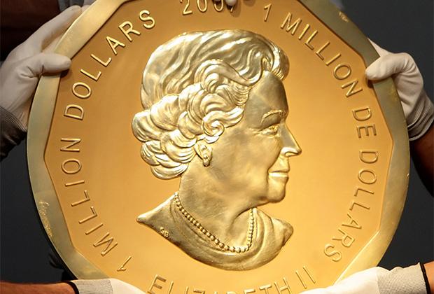 Монета «Большой кленовый лист»