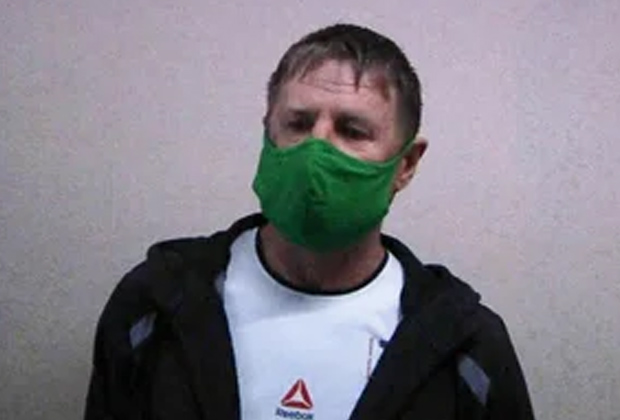 Задержанный Виктор Баженов