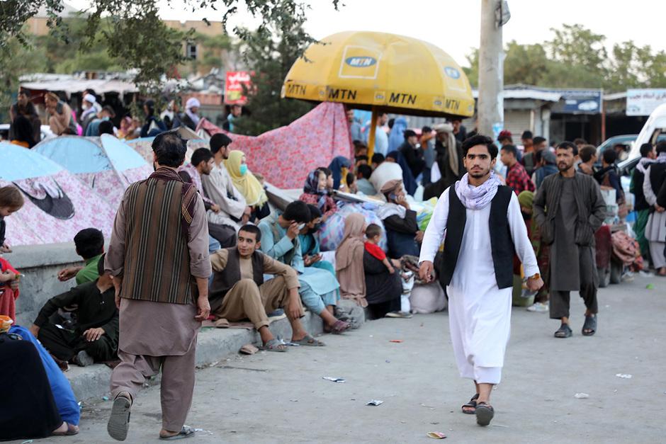 Беженцы, Кабул, 10 августа