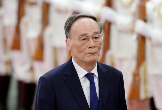 Зампредседателя КНР Ван Цишань