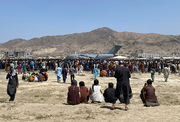 Аэропорт имени Хамида Карзая в Кабуле