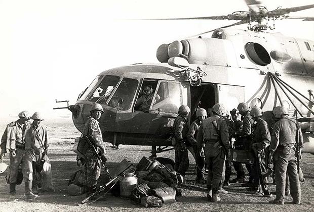 Бойцы спецназа «Вымпел»