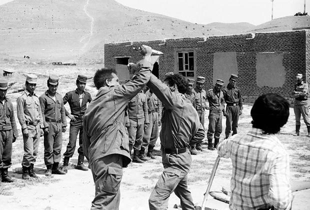 Подготовка бойцов спецназа «Вымпел»