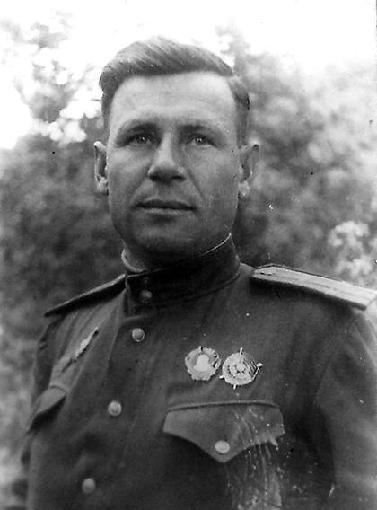 Герой Советского Союза гвардии подполковник Александр Бурда