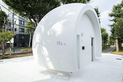 В Японии создали «приветливый» туалет