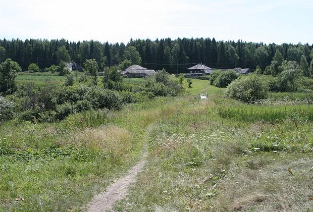 Деревня Зырянка